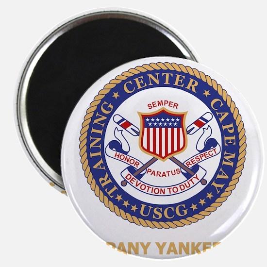USCG-Recruit-Y175-Black-Shirt Magnet