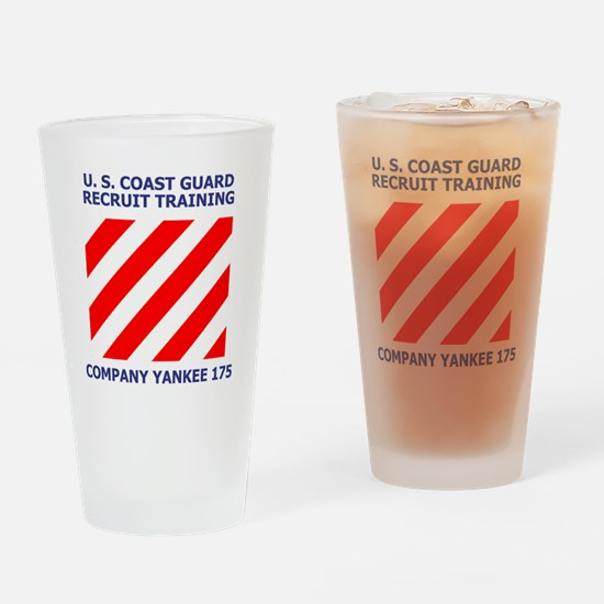 USCG-Recruit-Co-Y175-Shirt-1.gif Drinking Glass