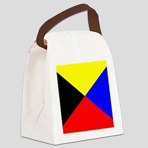 Flag-Maritime-Z Canvas Lunch Bag