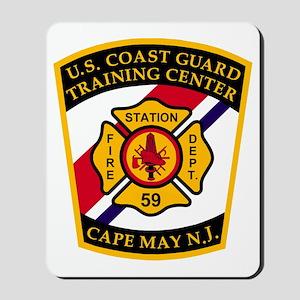USCG-TRACEN-CpMy-Fire-Dept-Bonnie Mousepad