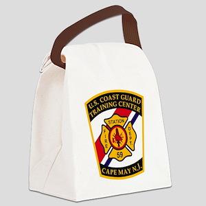 USCG-TRACEN-CpMy-Fire-Dept-Bonnie Canvas Lunch Bag