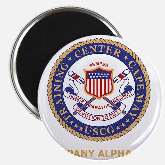 USCG-Recruit-A176-Black-Shirt Magnet