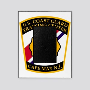3-USCG-TRACEN-CpMy-Fire-Dept-Black-S Picture Frame