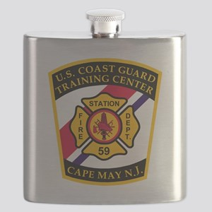 3-USCG-TRACEN-CpMy-Fire-Dept-Black-Shirt Flask