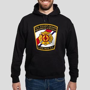 3-USCG-TRACEN-CpMy-Fire-Dept-Black-S Hoodie (dark)