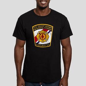 3-USCG-TRACEN-CpMy-Fir Men's Fitted T-Shirt (dark)