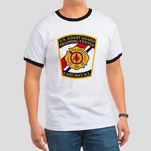3-USCG-TRACEN-CpMy-Fire-Dept-Black-Shirt Ringer T