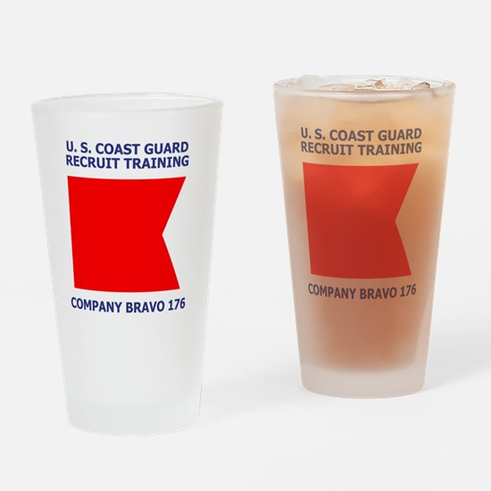 USCG-Recruit-Co-B176-Shirt-1.gif Drinking Glass