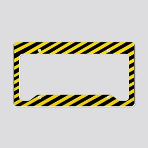 Safety-First-Black-Cap License Plate Holder