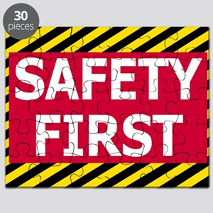 Safety-First-Sticker Puzzle