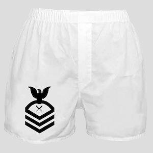 Navy-YNC-Whites Boxer Shorts