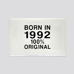 Born In 1992 Rectangle Magnet