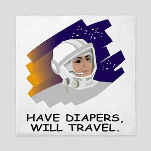 NASA-Have-Diapers Queen Duvet