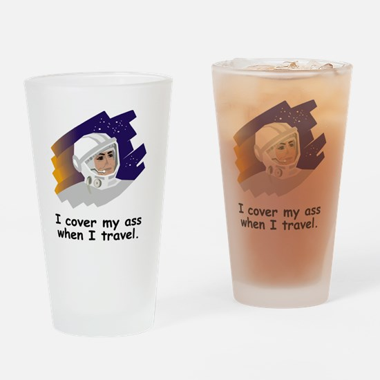 NASA-Cover-My-Ass.gif Drinking Glass