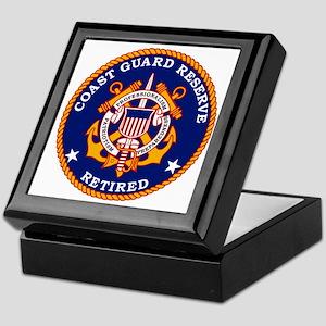 USCGR-Retired-Bonnie Keepsake Box