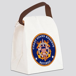 USCGR-Retired-Bonnie Canvas Lunch Bag