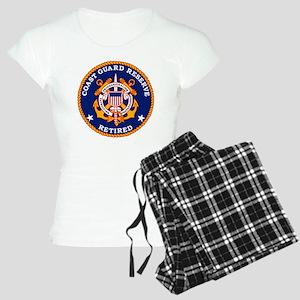 USCGR-Retired-Bonnie Women's Light Pajamas
