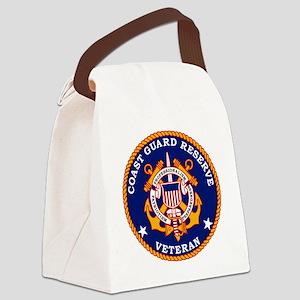 USCGR-Veteran-Bonnie Canvas Lunch Bag