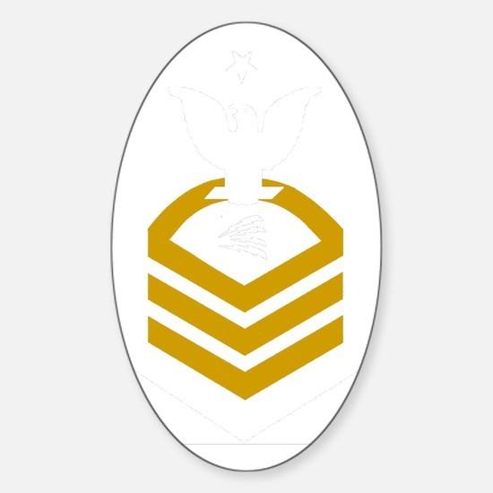 USCG-TCCS-Black-Shirt Sticker (Oval)