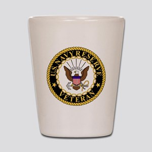 USNR-Veteran-2 Shot Glass