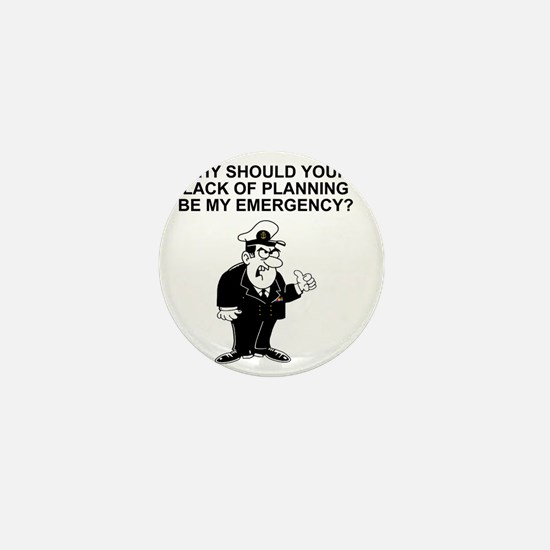 Navy-Humor-Lack-Of-Planning-Right-Slee Mini Button