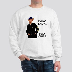 Navy-Humor-Im-A-Chief-G Sweatshirt