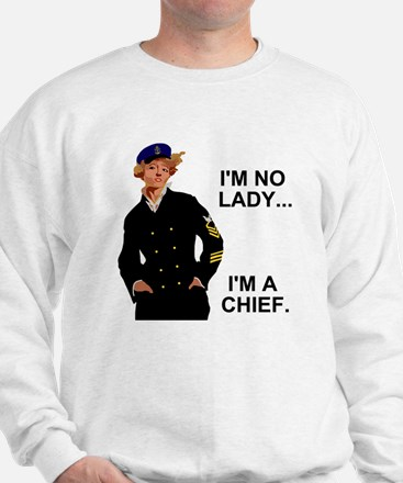 Navy-Humor-Im-A-Chief-G.gif Sweatshirt