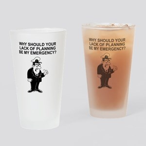 Navy-Humor-Lack-Of-Planning-Right-S Drinking Glass