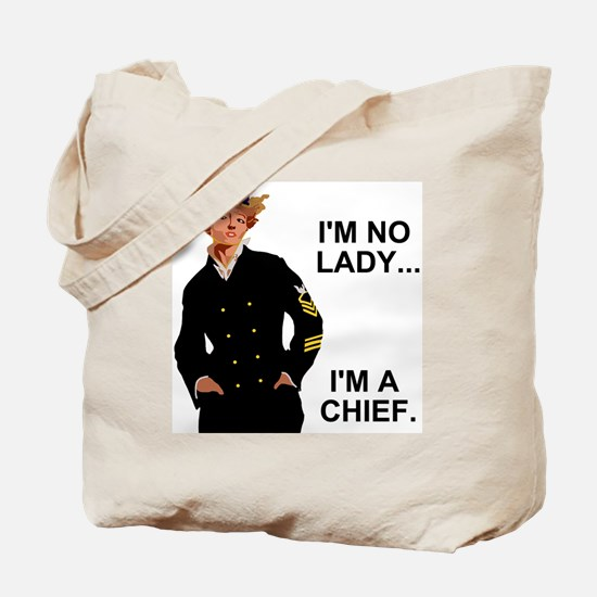 Navy-Humor-Im-A-Chief-G.gif Tote Bag