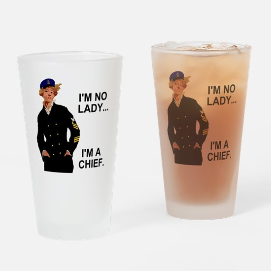 Navy-Humor-Im-A-Chief-G.gif Drinking Glass