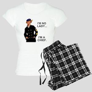 Navy-Humor-Im-A-Chief-G Women's Light Pajamas
