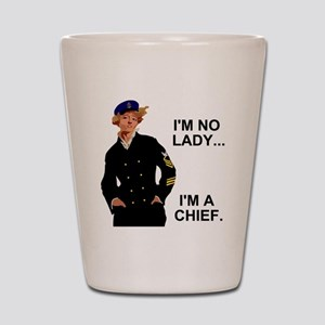 Navy-Humor-Im-A-Chief-G Shot Glass