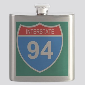 Sign-Interstate-94-Mousepad Flask