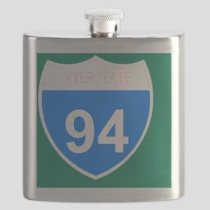 Sign-Interstate-94-Magnet Flask