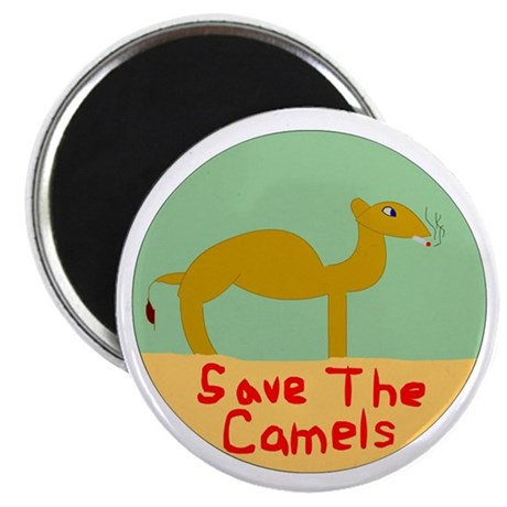 Save The Camels Magnet