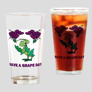 St-Urho-Shirt-Back Drinking Glass