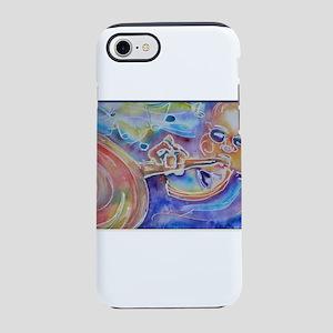 Trumpet, musician art iPhone 7 Tough Case