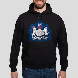 3-RAF-Warrant-Officer-Black-Shirt Hoodie (dark)
