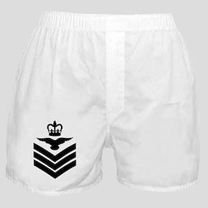 RAF-Flight-Sergeant-Aircrew-Messenger Boxer Shorts