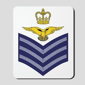 RAF-Flight-Sergeant-Aircrew-Black-Shirt Mousepad