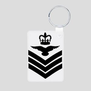RAF-Flight-Sergeant-Aircre Aluminum Photo Keychain