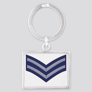 RAF-Corporal-Cap Landscape Keychain