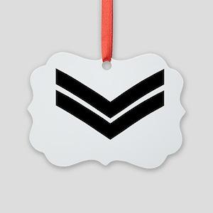 RAF-Corporal-Khaki-Cap Picture Ornament