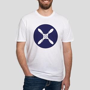 RAF-Junior-Technician-Blue-Shirt.gi Fitted T-Shirt