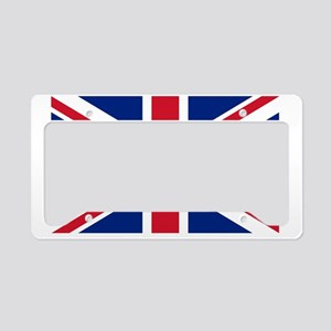 British-Flag License Plate Holder