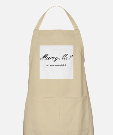 Marry Me? BBQ Apron