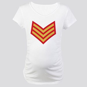 Royal-Marines-Sergeant-Red-Bonni Maternity T-Shirt