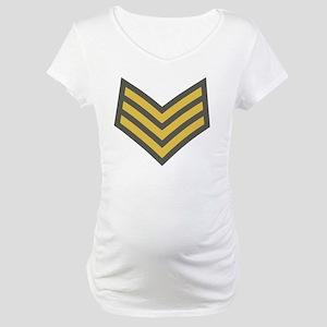 Royal-Marines-Sergeant-Cap Maternity T-Shirt