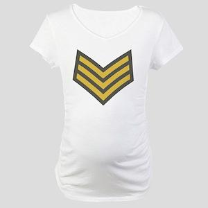 Royal-Marines-Sergeant-Green-Bon Maternity T-Shirt