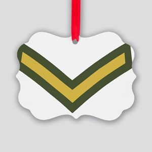 Royal-Marines-Lance-Corporal-Blac Picture Ornament